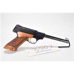 Restricted handgun Browning model Challenger, .22 LR 10 shot semi automatic, w/ bbl length 172mm [Bl