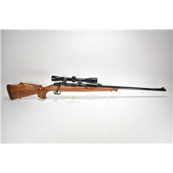 Non-Restricted rifle D. Cottle model Mauser custom, 9.3X64 Brenneke mag fed 3 shot bolt action, w/ b