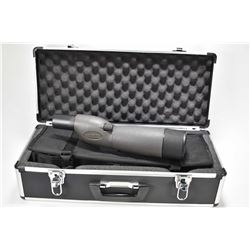 RedHead 20-60X60mm spotting scope with fitted hard case, soft carrying case, tri-pod and other acces