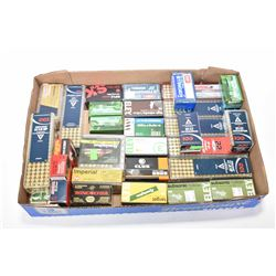 Large selection of .22 ammunition including approximately 1100 assorted rounds.