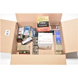 Selection of .22 ammunition including approximately 900 rounds.