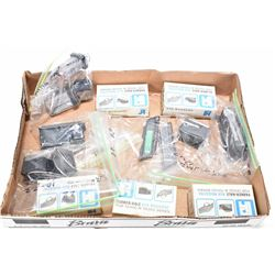 Fifteen assorted firearms magazines including Winchester 77, S&W 1500 25-06, Remington Model 547 .22