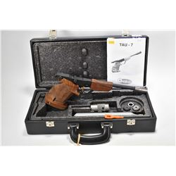 Non-Restricted Air pistol Brno model Tau7, .177 cal single shot [Target pistol with fixed front and