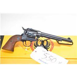 Restricted handgun Ruger model Single six, .22 LR/.22 Mag. 6 shot single action, w/ bbl length 165mm