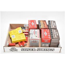 Selection of 12 gauge shotgun ammo. including 150 boxed and loose assorted.