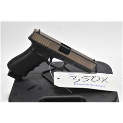 Restricted handgun Glock model 17, .22 LR 10 semi automatic, w/ bbl length 114mm [Fitted with Tactic
