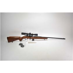 "Non-Restricted rifle Mossberg model 640ka, .22 Mag mag fed 10 bolt action, w/ bbl length 22 1/2"" [Bl"