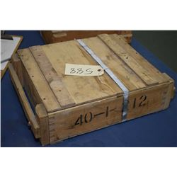 Full crate of 1440 rounds of 7.62x39 ammo