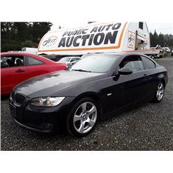 C5 --  2007 BMW 335I , Black , 167301  KM's