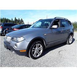 H6 --  2008 BMW X3 3.OSI , Grey , 189150  KM's