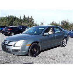 O6 --  2006 FORD FUSION  , Green , 216744  KM's