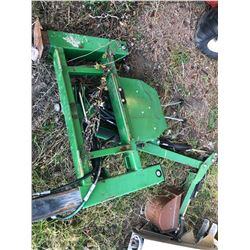 BACK HOE ATTACHMENT FOR POWER TRAC