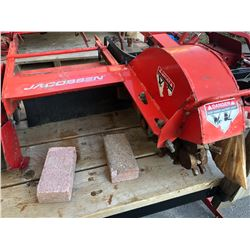 JACOBSEN STUMP GRINDER ATTACHMENT FOR STEINERS