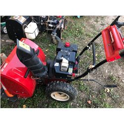 "10 HP YARD MACHINE 26"" SNOW BLOWER"