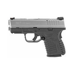 "Springfield, XDS, 45ACP, 3.3"" Barrel, Polymer Frame, Bi Tone Finish, Fiber Optic Front Sight, 5Rd, 1"