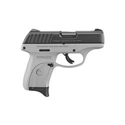 "RUGER EC9S 9MM 3.1"" GRY 7RD"