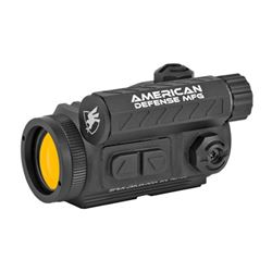 American Defense Mfg., Spek Red Dot, Black Finish, 2 MOA, T1 Co-Witness Mount with Titanium Lever