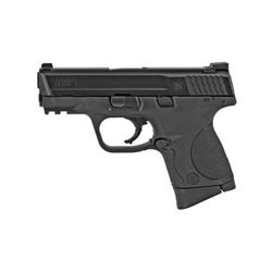 """S& W M& P 9MM 3.5"""" BLK 12RD"""