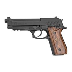 "TAURUS PT92 9MM 5"" 17RD BLK WOOD"