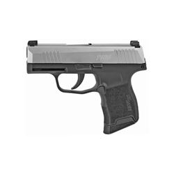 SIG P365 9MM 3.1  10RD BLK/STS