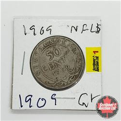 Newfoundland Fifty Cent 1909