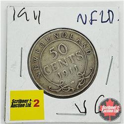 Newfoundland Fifty Cent 1911