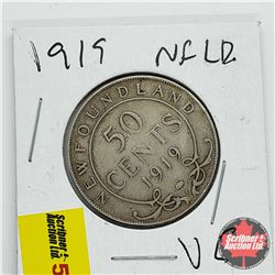 Newfoundland Fifty Cent 1919