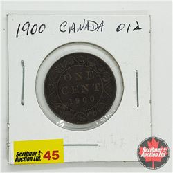 Canada Large Cent 1900
