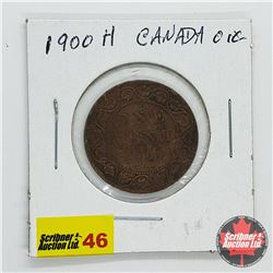 Canada Large Cent 1900H
