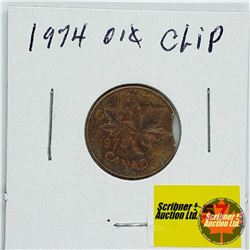 Canada One Cent 1974 (Clip)