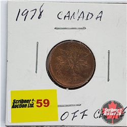 Canada One Cent 1978 (Off Centre)