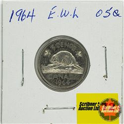 Canada Five Cent 1964 EWL