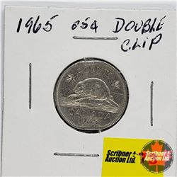 Canada Five Cent 1965 (Double Clip)