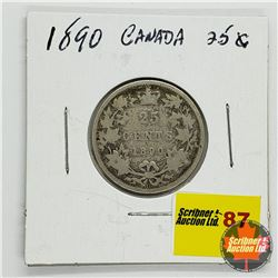Canada Twenty Five Cent 1890