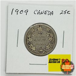 Canada Twenty Five Cent 1909