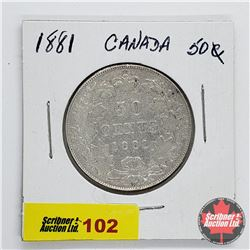 Canada Fifty Cent 1881