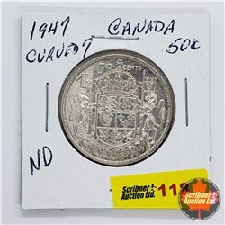 Canada Fifty Cent 1947 C7ND