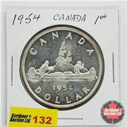 Canada Silver Dollar 1954