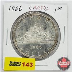 Canada Silver Dollar 1966