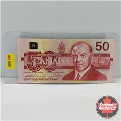 Canada $50 Bill 1988 (Replacement Note) : Thiessen/Crow : S/N#EHX3431114