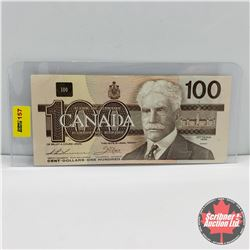 Canada $100 Bill 1988 (Replacement Note) : Thiessen/Crow : S/N#AJX2000496