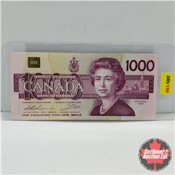 Canada $1000 Bill 1988 : Thiessen/Crow S/N#EKA0210134