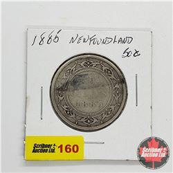 Newfoundland Fifty Cent 1885
