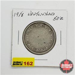Newfoundland Fifty Cent 1918