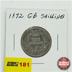 Great Britain One Shilling 1872