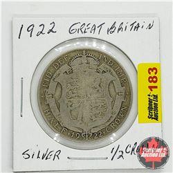 Great Britain Half Crown 1922