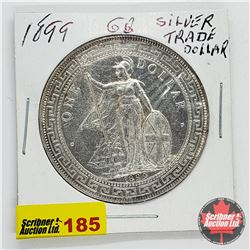 Great Britain Silver Trade Dollar 1899