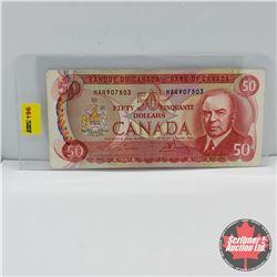 Canada $50 Bill 1975 (Musical Ride) : Lawson/Bouey S/N#HA4907803