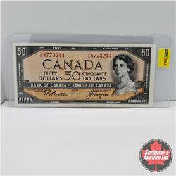 Canada $50 Bill 1954 : Beattie/Coyne S/N#AH8773244