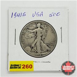 USA Half Dollar 1941S